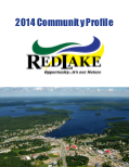 Thumbnail of the front page of the 2014 Red lake Community Profile